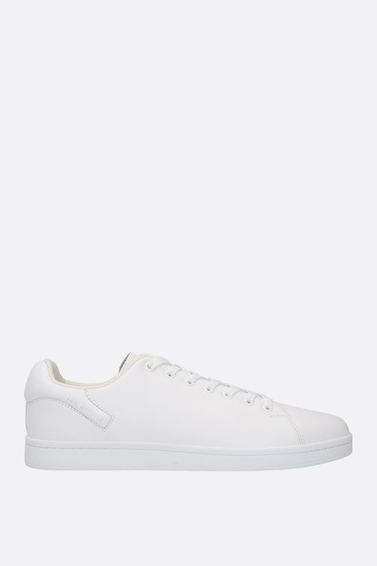 RAF SIMONS: Orion faux leather sneakers Color White_1