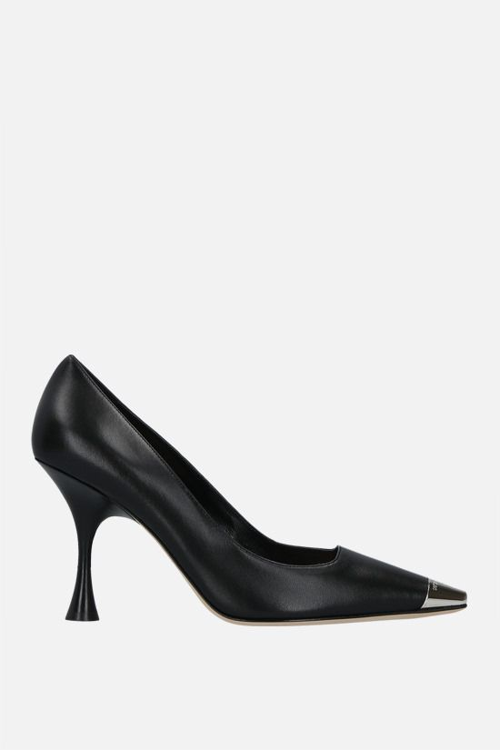 SERGIO ROSSI: sr Twenty smooth leather pumps Color Black_1