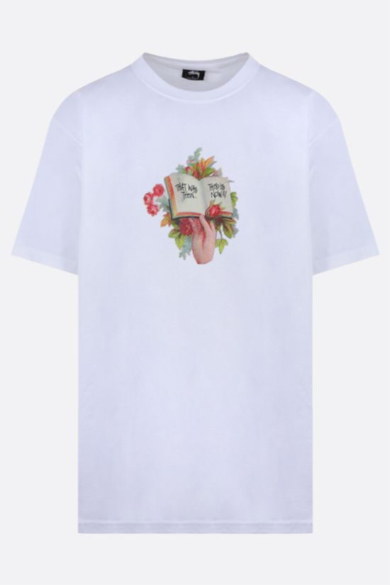 STUSSY: Handbook cotton t-shirt Color White_1