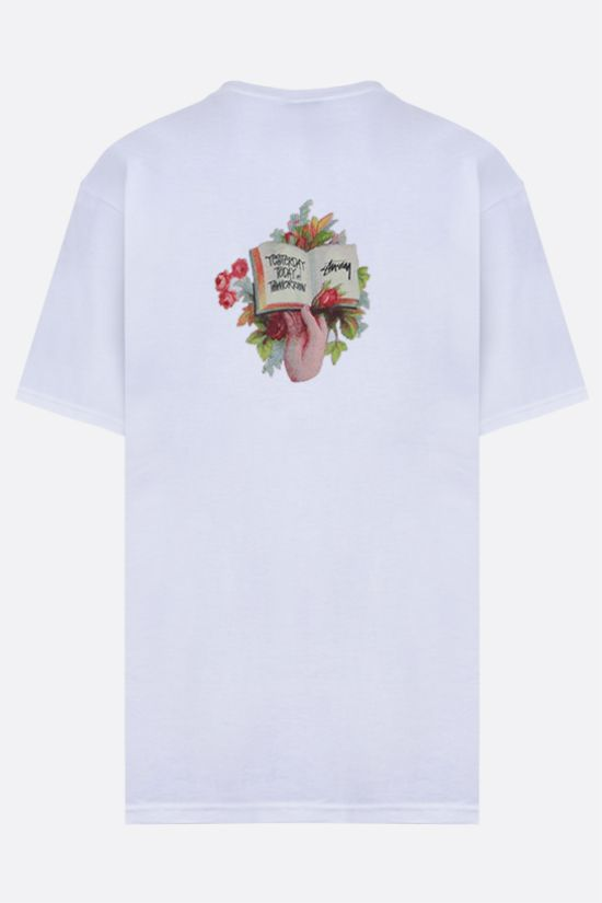 STUSSY: Handbook cotton t-shirt Color White_2
