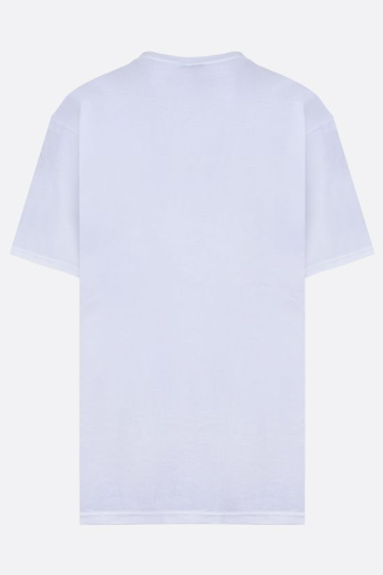 STUSSY: Levitate cotton t-shirt Color White_2