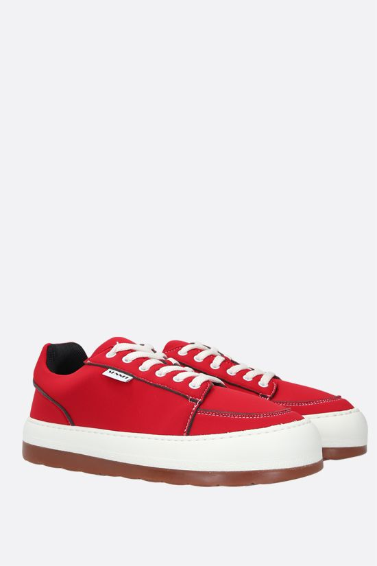 SUNNEI: Dreamy neoprene sneakers Color Red_2