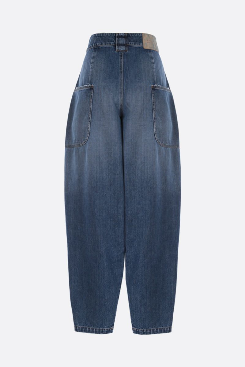 TELFAR: baggy-fit jeans Color Blue_2