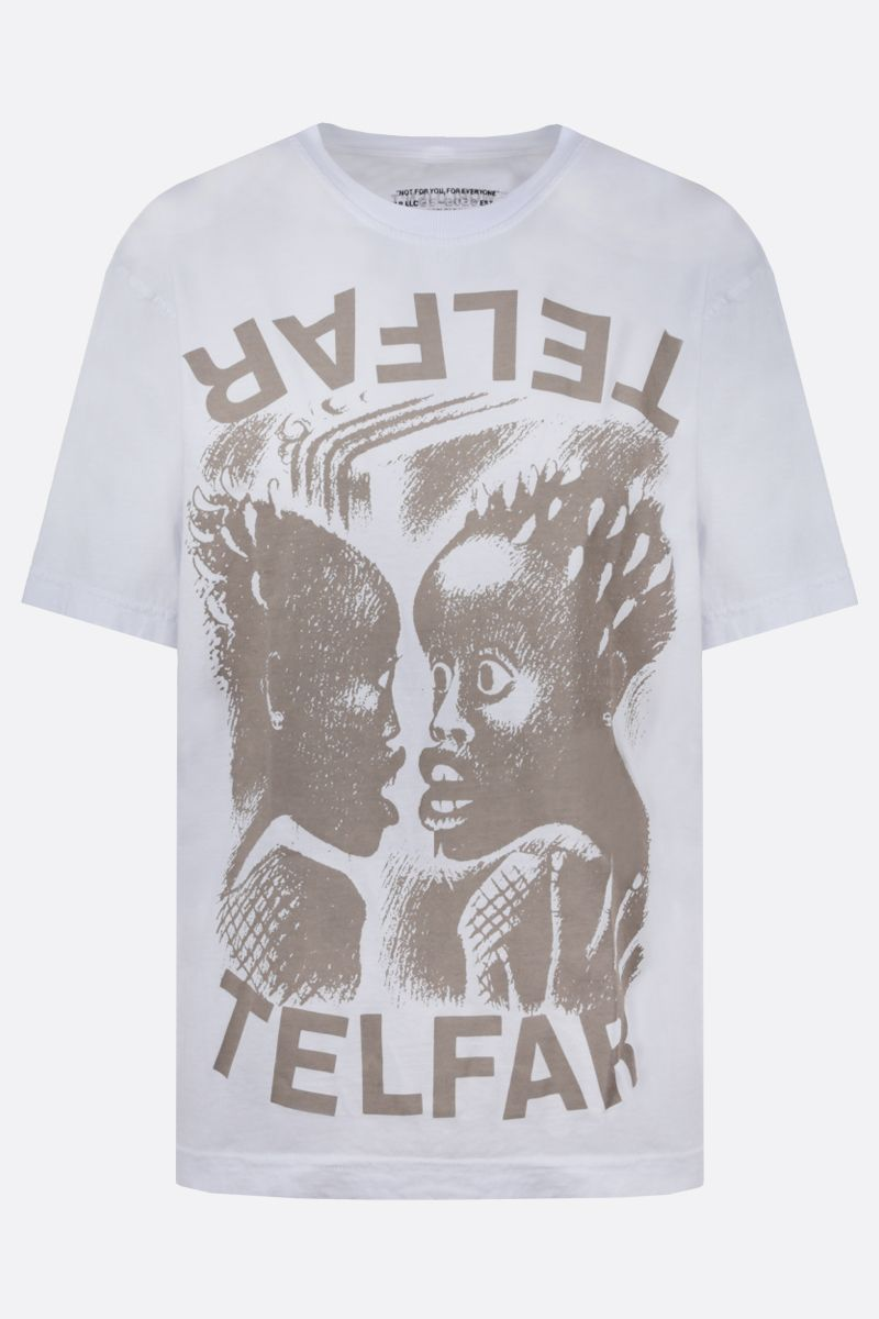 TELFAR: The Bomb cotton t-shirt Color White_1