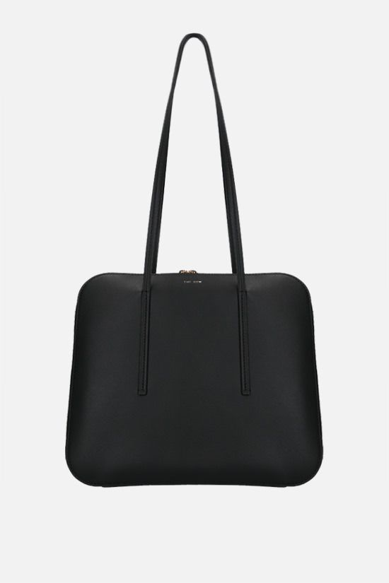 THE ROW: Siamese smooth leather handbag Color Black_1