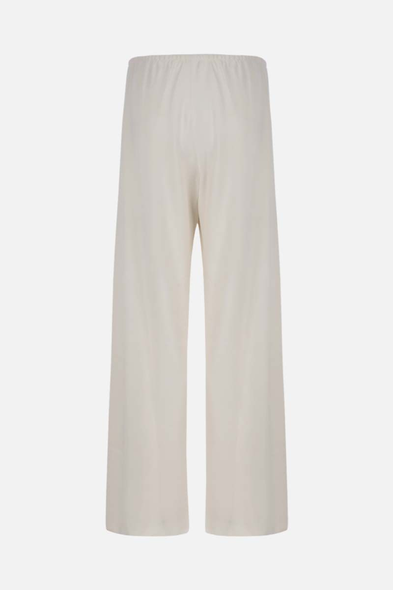 THE ROW: Gala stretch cady wide-leg pants Color White_2