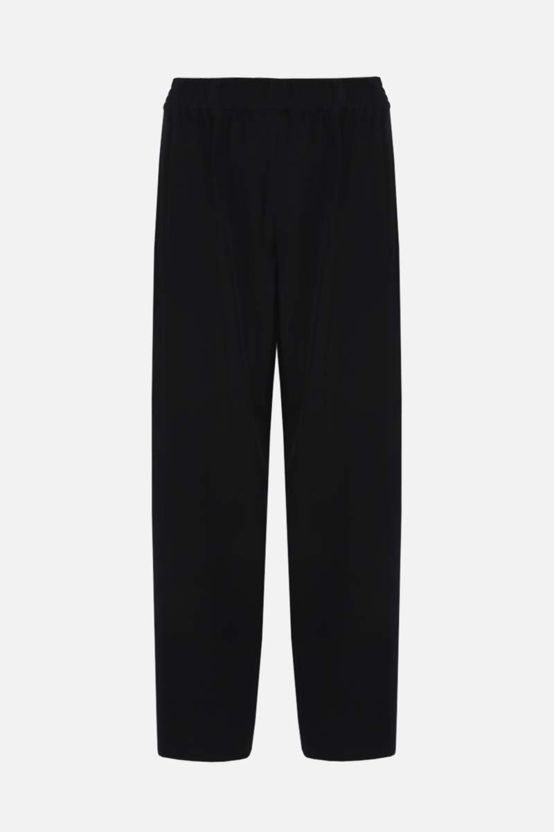 THE ROW: Olle wool darted pants Color Black_1