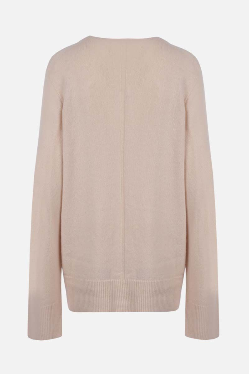 THE ROW: Elaine wool cashmere blend pullover Color Neutral_2