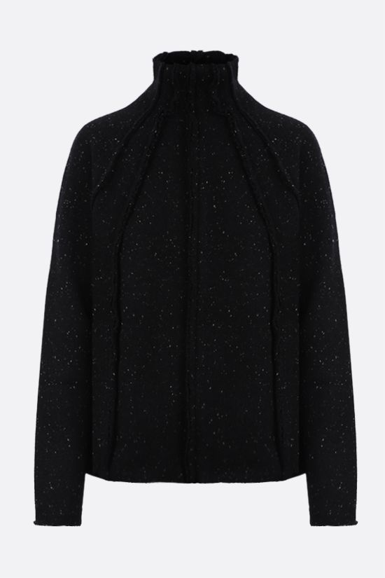 THE ROW: Adamy wool knit pullover Color Black_1
