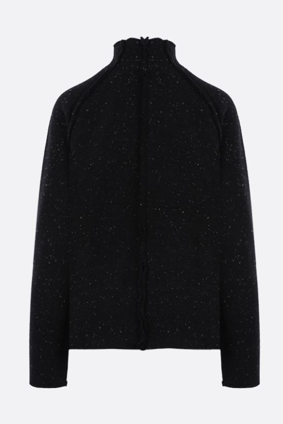 THE ROW: Adamy wool knit pullover Color Black_2