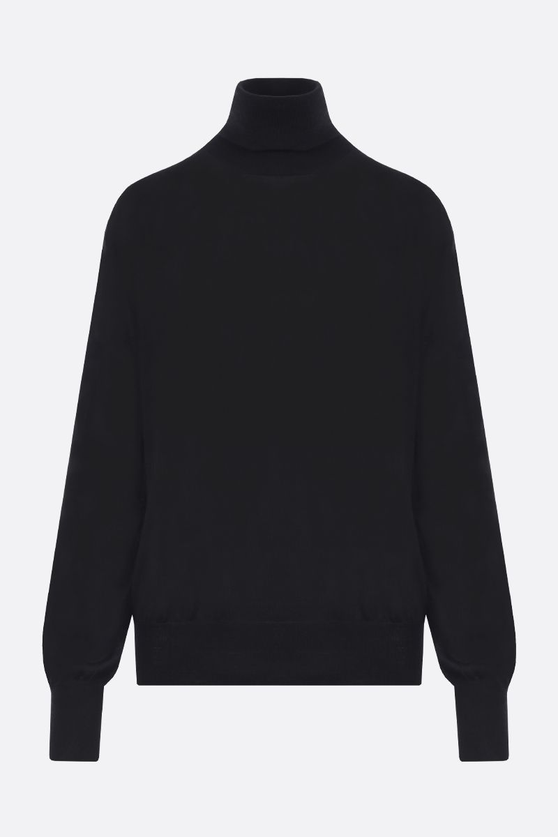THE ROW: Andrett cashmere turtleneck Color Black_1