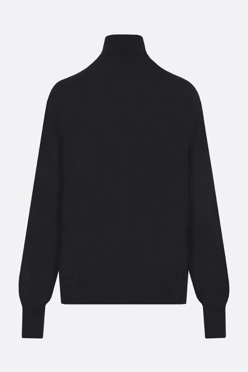 THE ROW: Andrett cashmere turtleneck Color Black_2