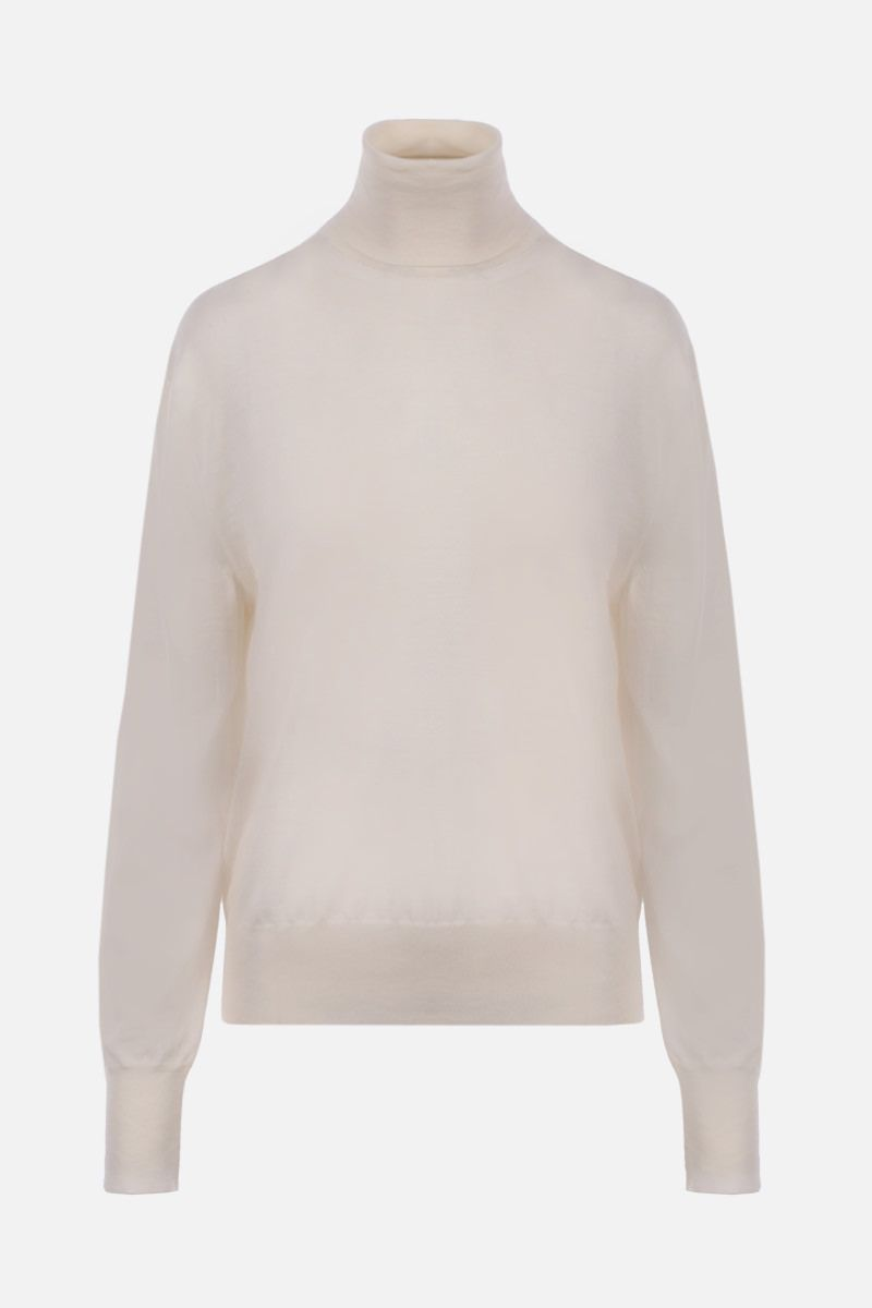 THE ROW: Andrett cashmere turtleneck Color White_1