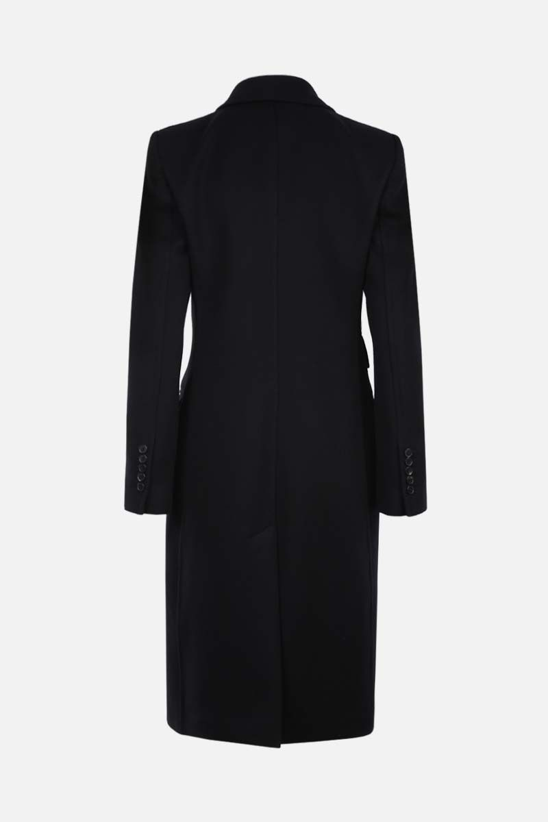 TOM FORD: cashmere double-breasted coat Color Black_2