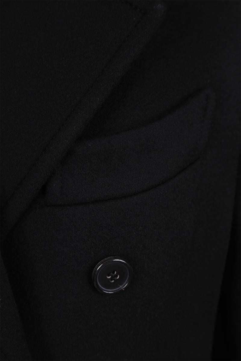 TOM FORD: cashmere double-breasted coat Color Black_5