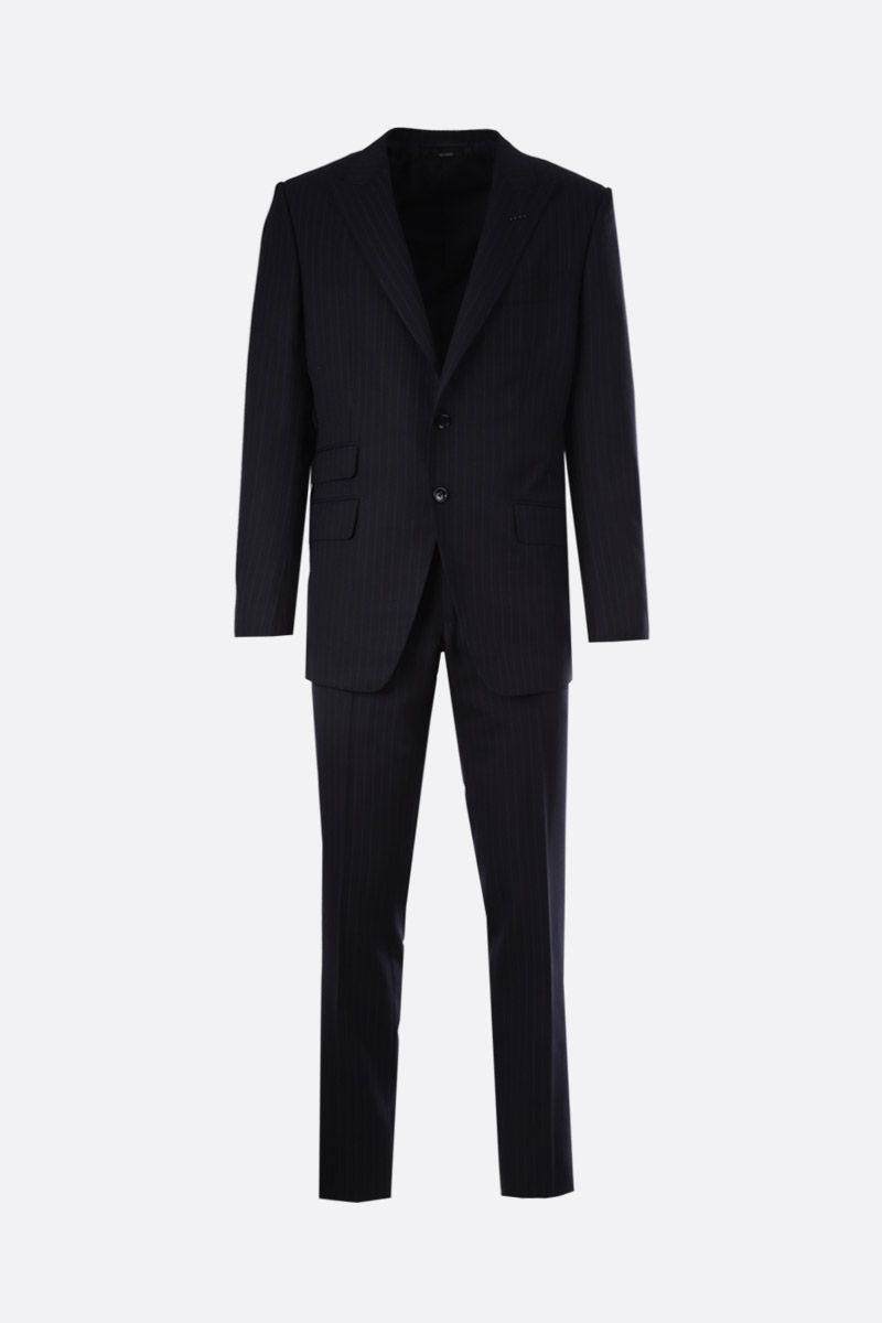 TOM FORD: O'Connor wool silk blend two-pieces suit Color Blue_1