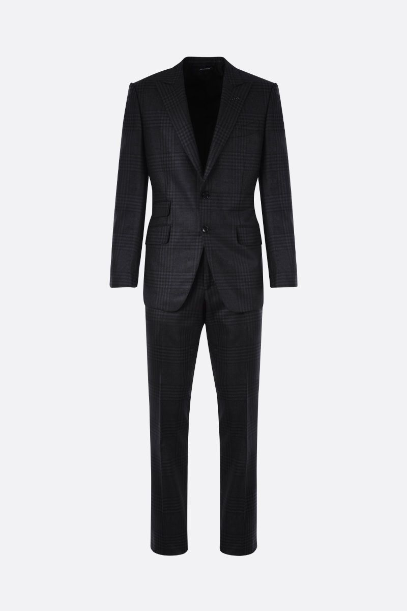 TOM FORD: O'Connor wool two-pieces suit Color Grey_1