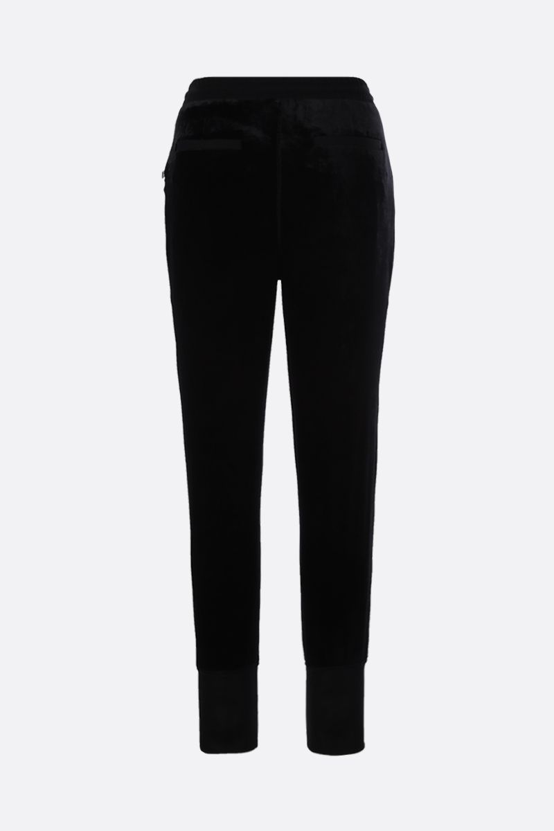 TOM FORD: chenille joggers Color Black_2