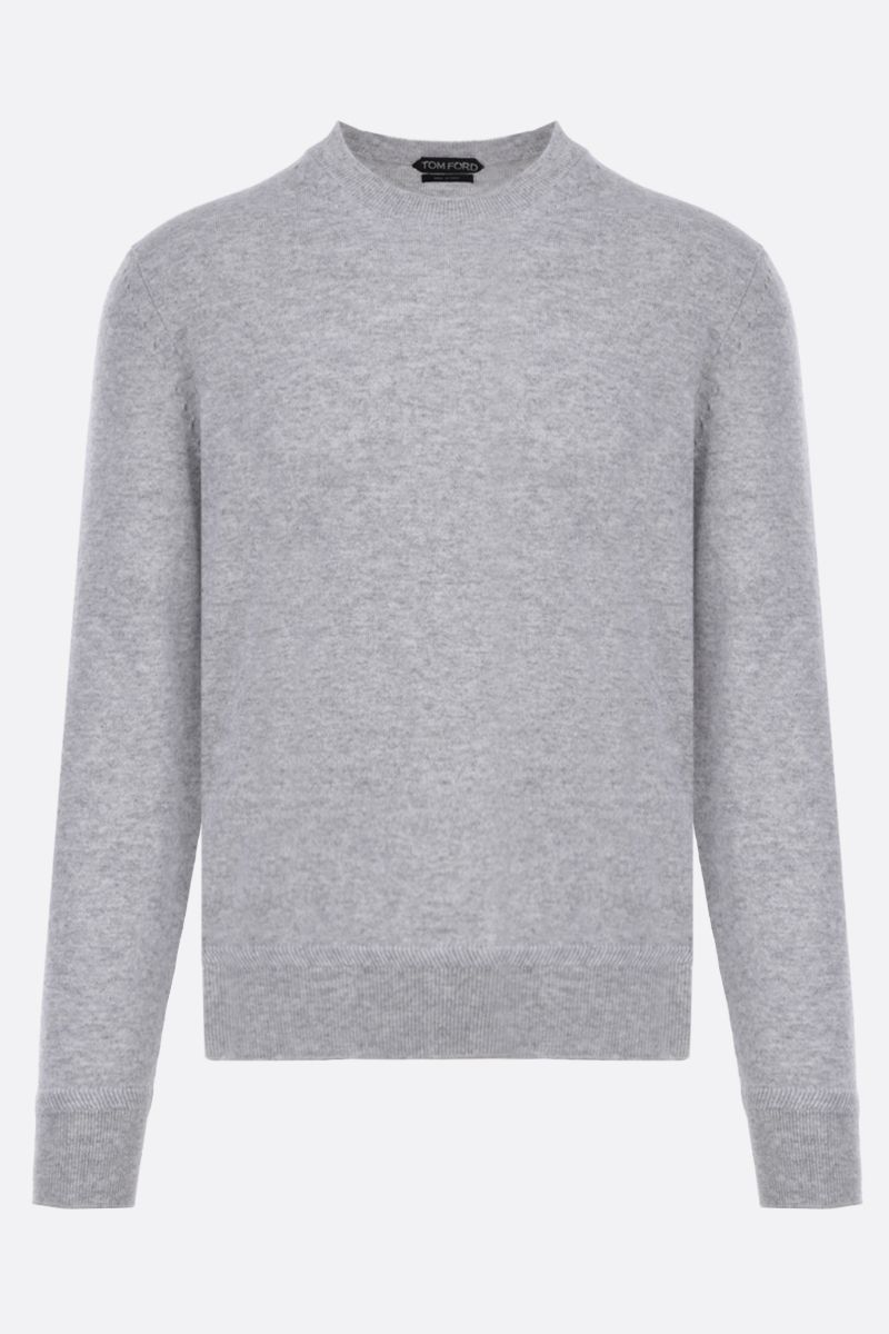 TOM FORD: pure cashmere pullover Color Grey_1