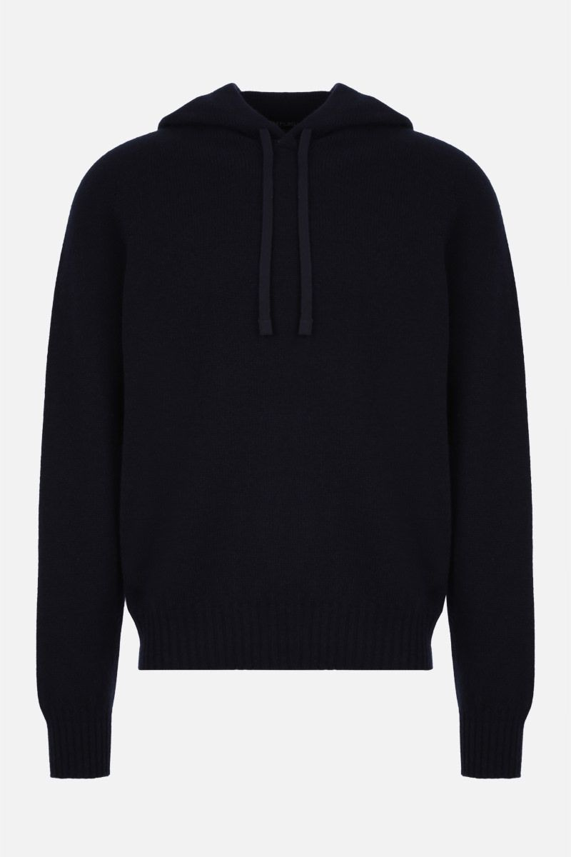 TOM FORD: cashmere hooded pullover Color Blue_1
