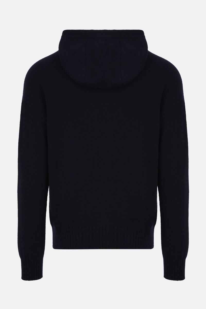 TOM FORD: cashmere hooded pullover Color Blue_2