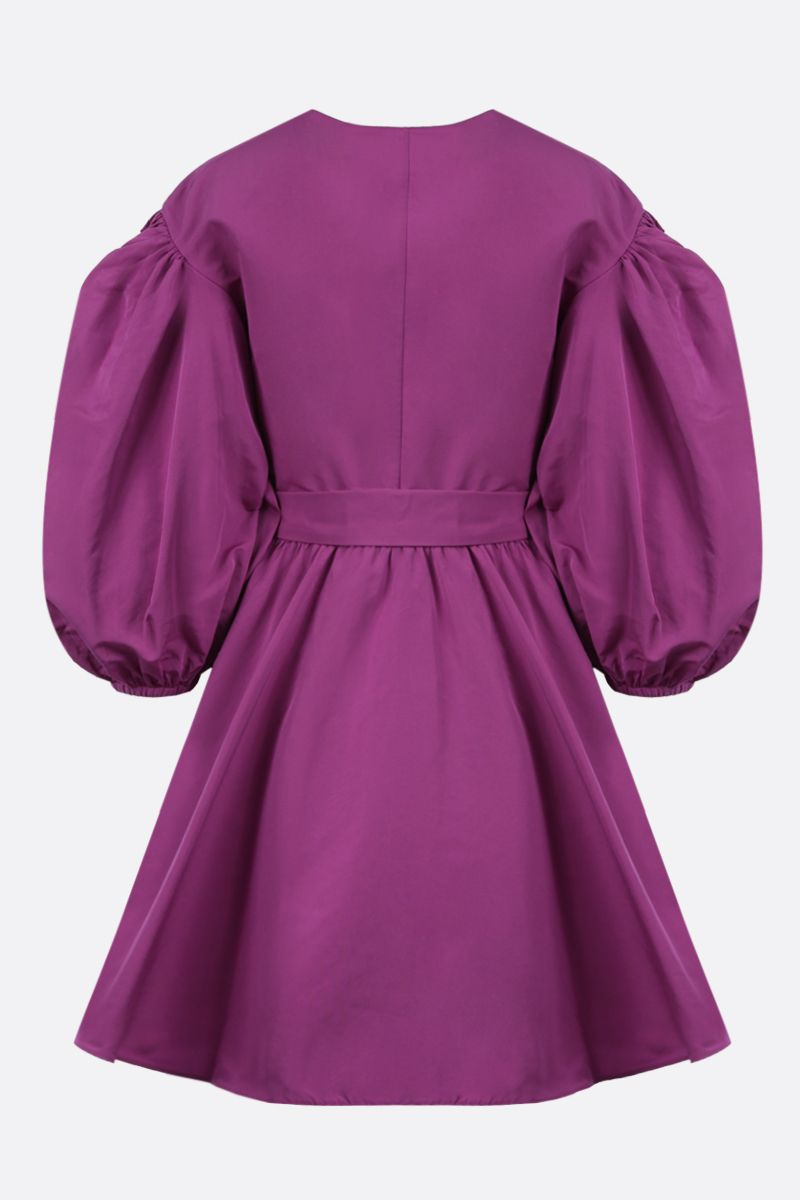 VALENTINO: micro faille wrap dress Color Pink_2