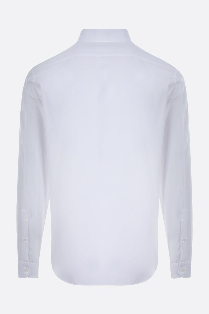 VALENTINO: Rockstud Untitled cotton shirt Color White_2