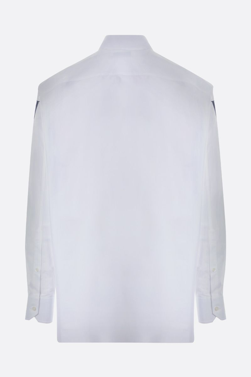 VALENTINO: Valentino print cotton shirt Color White_2