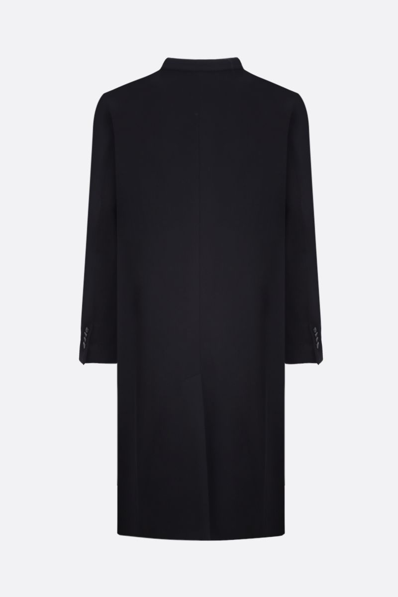 VALENTINO: VLOGO wool double-breasted coat Color Black_2