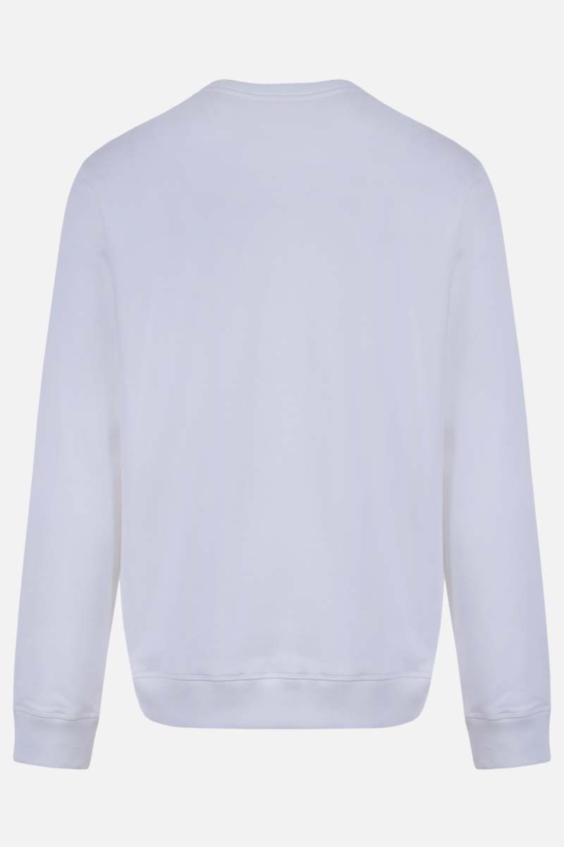 VALENTINO: VLTN cotton blend sweatshirt Color White_2