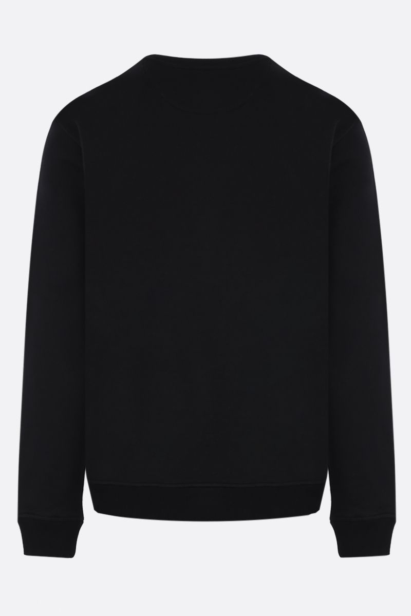 VALENTINO: VLTN cotton blend sweatshirt Color Black_2