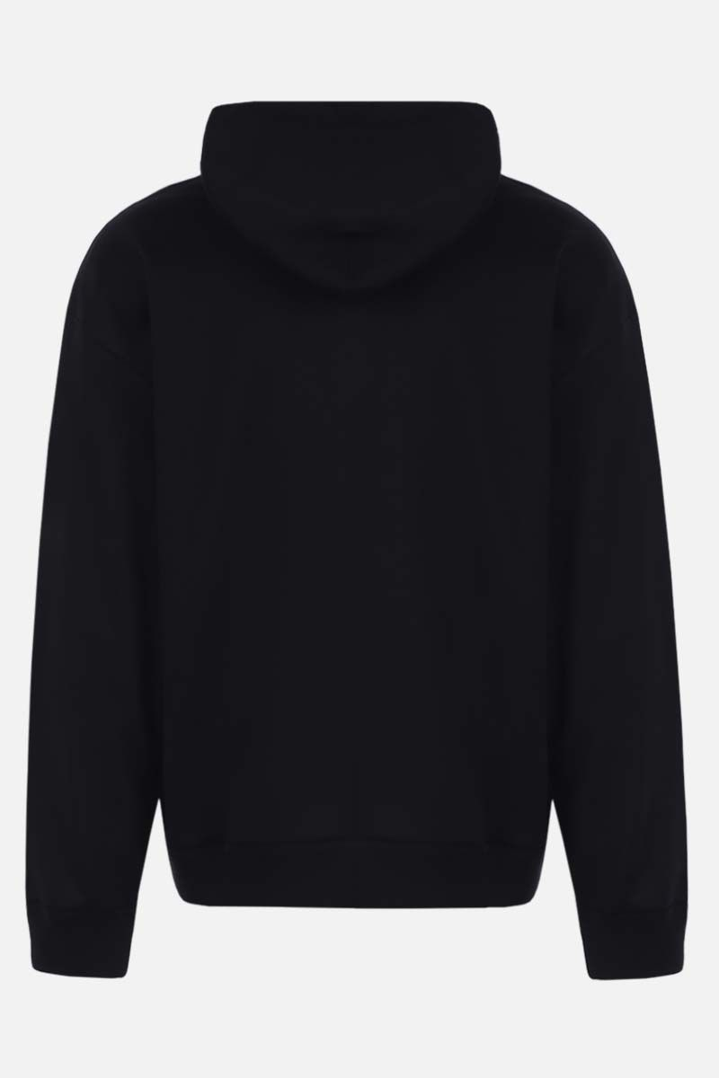 VALENTINO: VLOGO Shadow cotton blend hoodie Color Black_2