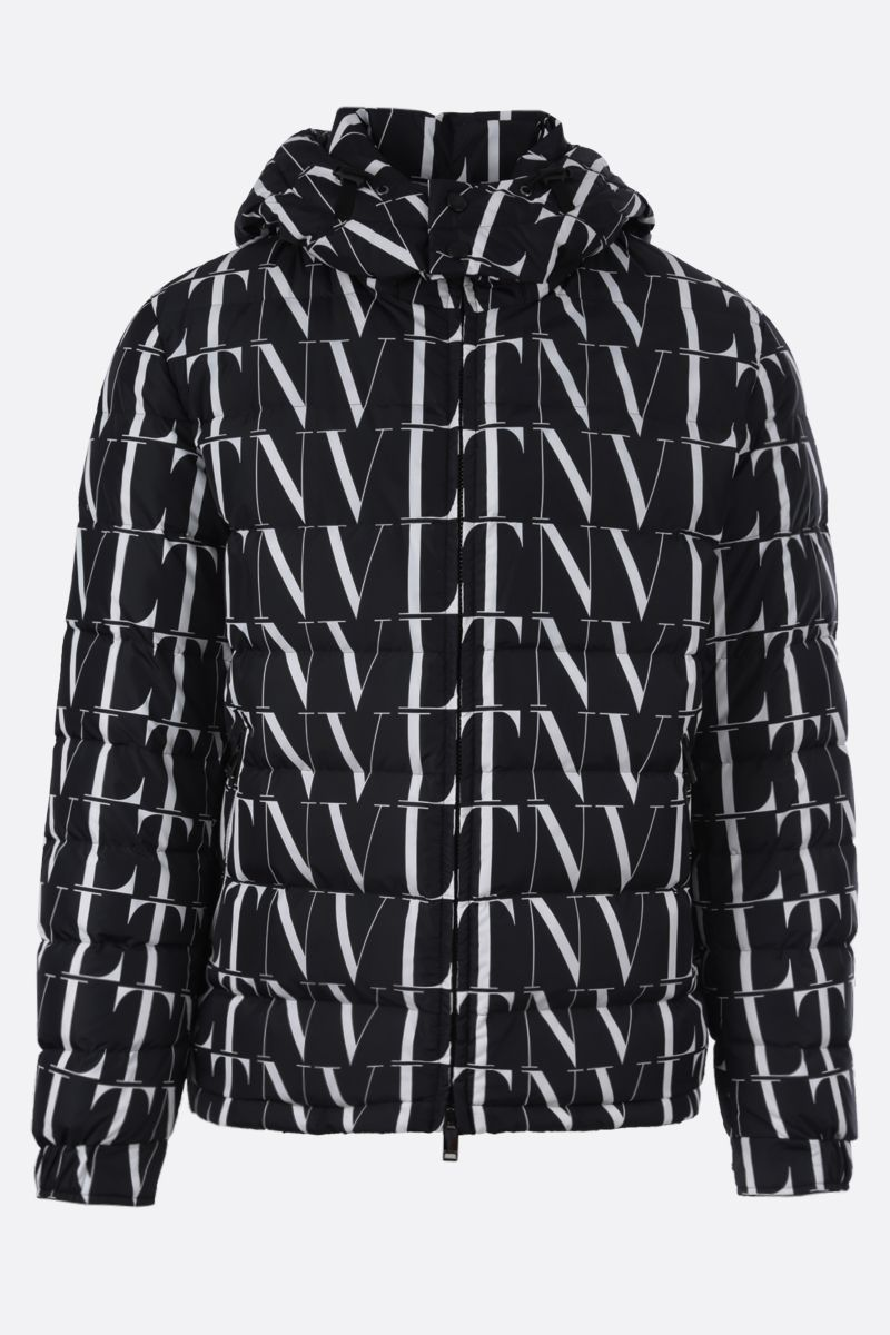 VALENTINO: VLTN TIMES nylon down jacket Color Black_1