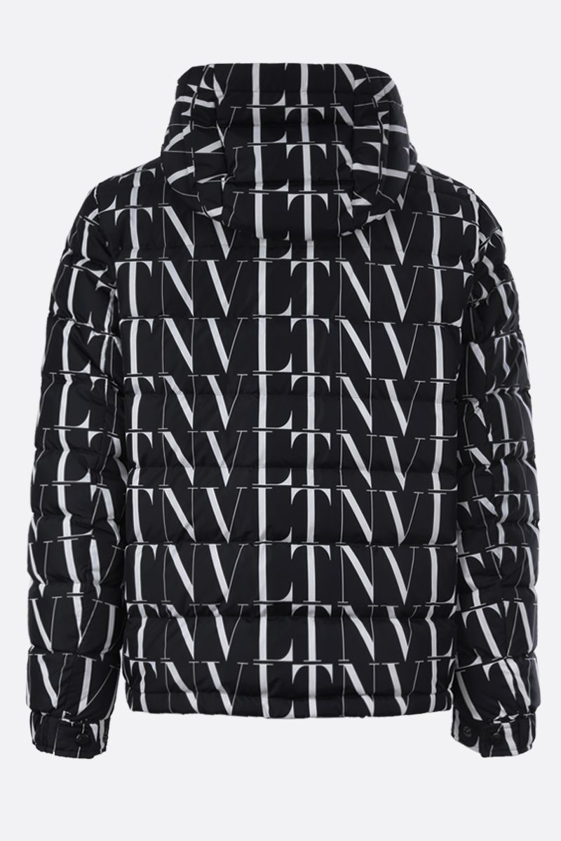 VALENTINO: VLTN TIMES nylon down jacket Color Black_2