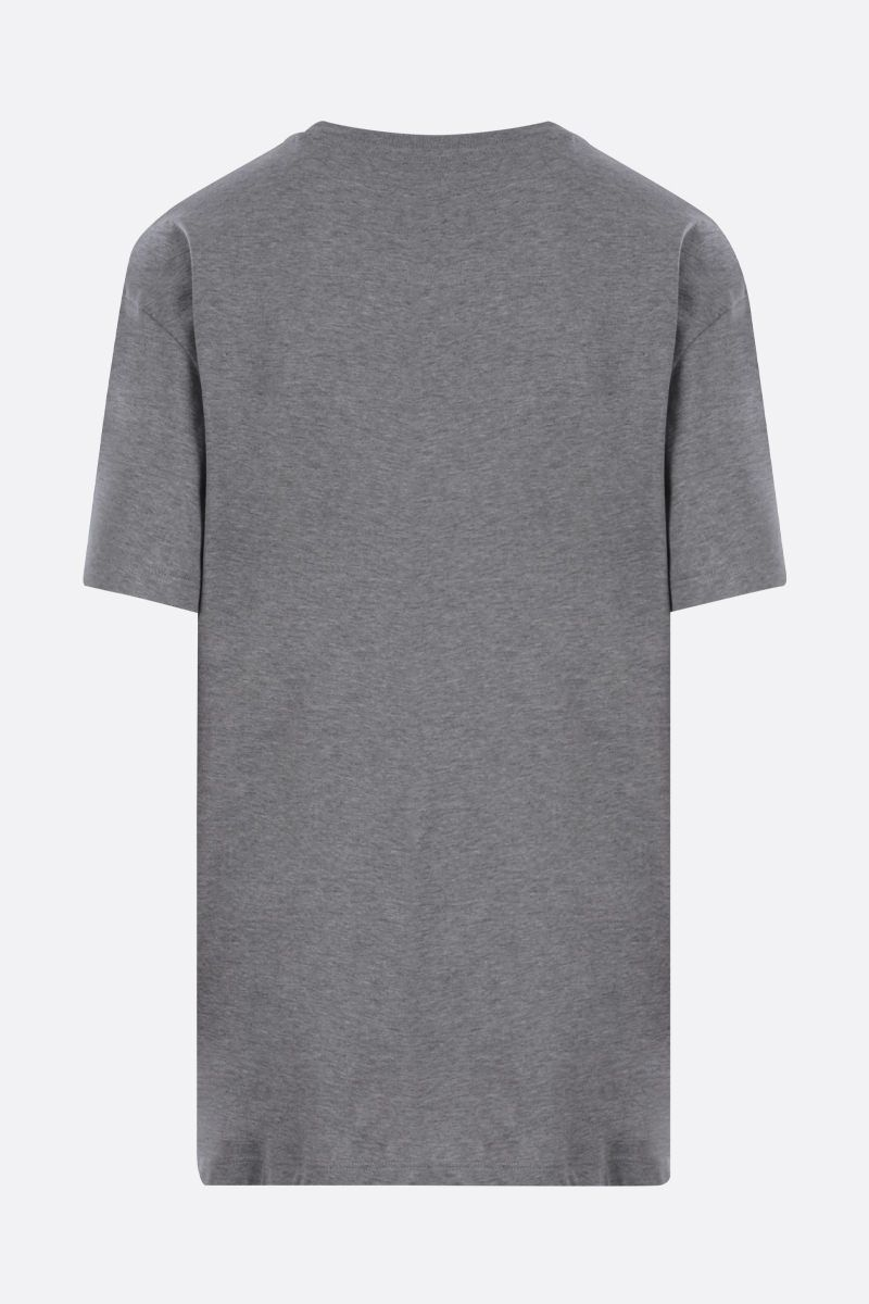 VALENTINO: VLOGO cotton t-shirt Color Grey_2