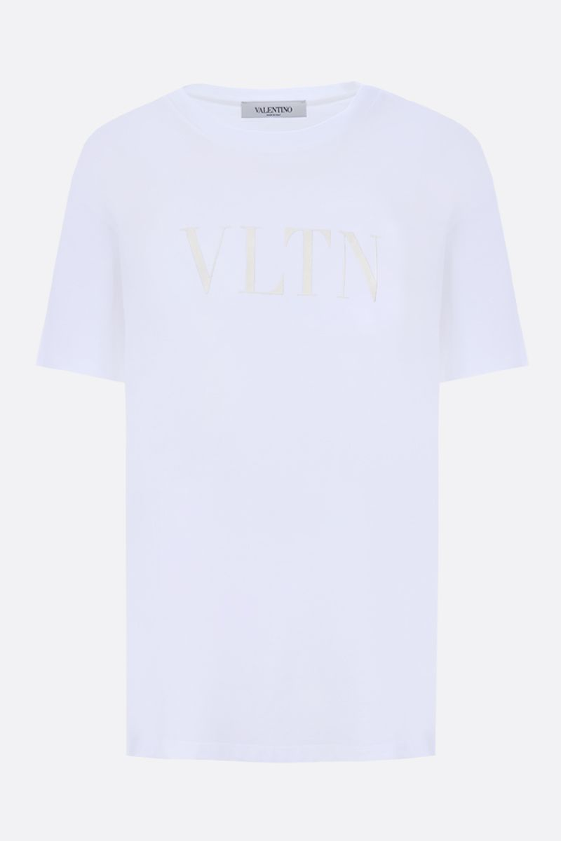 VALENTINO: VLTN cotton t-shirt Color White_1