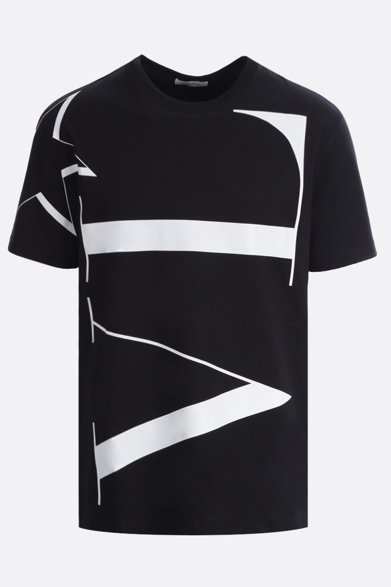 VALENTINO: VLTNSTAR cotton t-shirt Color Black_1