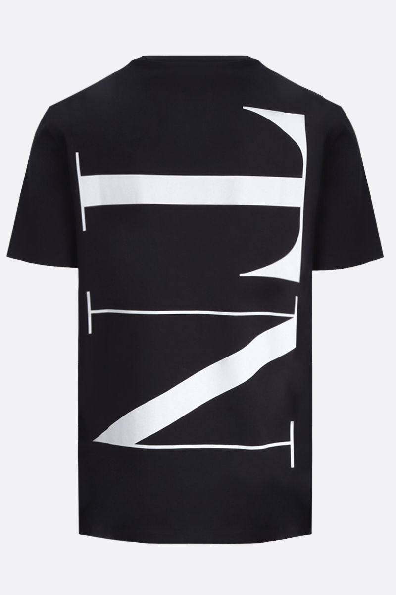 VALENTINO: VLTNSTAR cotton t-shirt Color Black_2