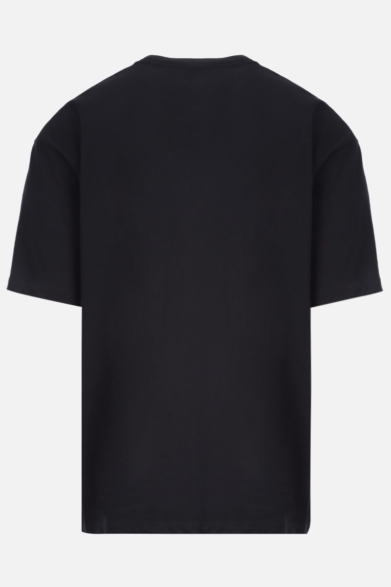 VALENTINO: VLOGO cotton t-shirt Color Black_2
