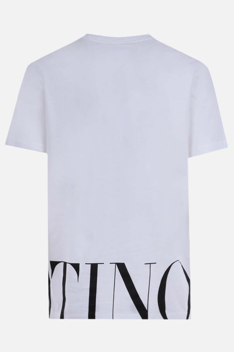 VALENTINO: Valentino print cotton t-shirt Color White_2