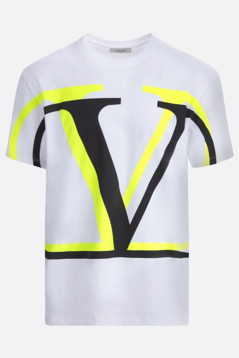 VALENTINO: VLOGO cotton t-shirt_1