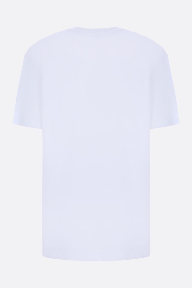 VALENTINO: VLTN cotton jersey t-shirt Color White_2