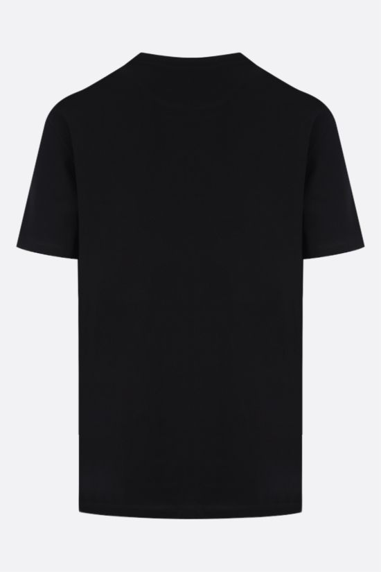 VALENTINO: VLTN cotton jersey t-shirt Color Black_2