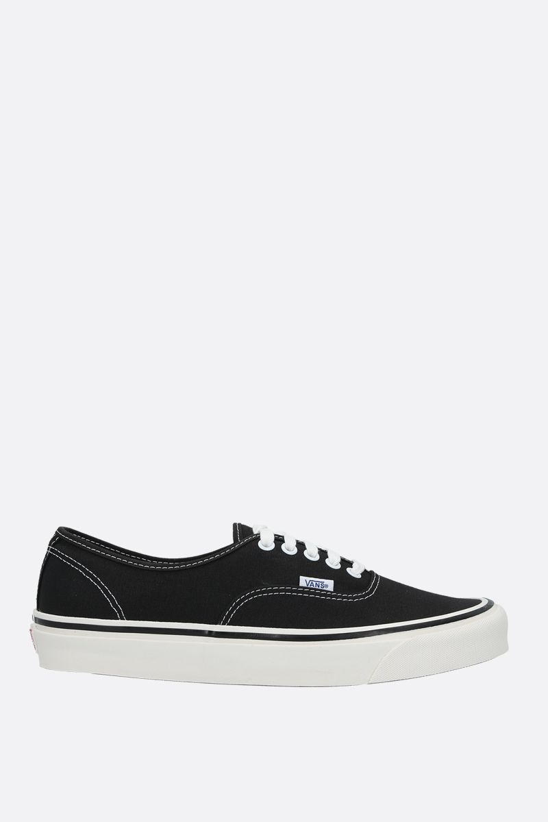 VANS: Authentic 44 canvas sneakers Color Black_1