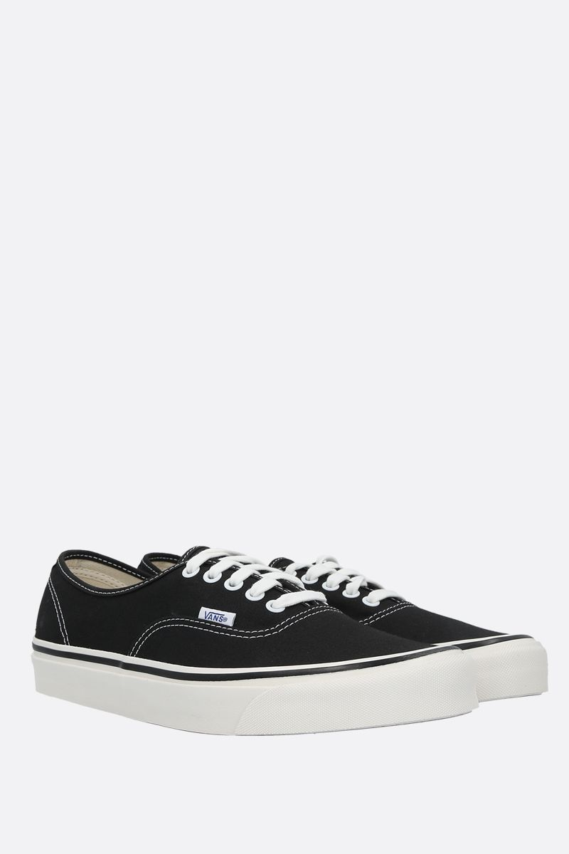 VANS: Authentic 44 canvas sneakers Color Black_2
