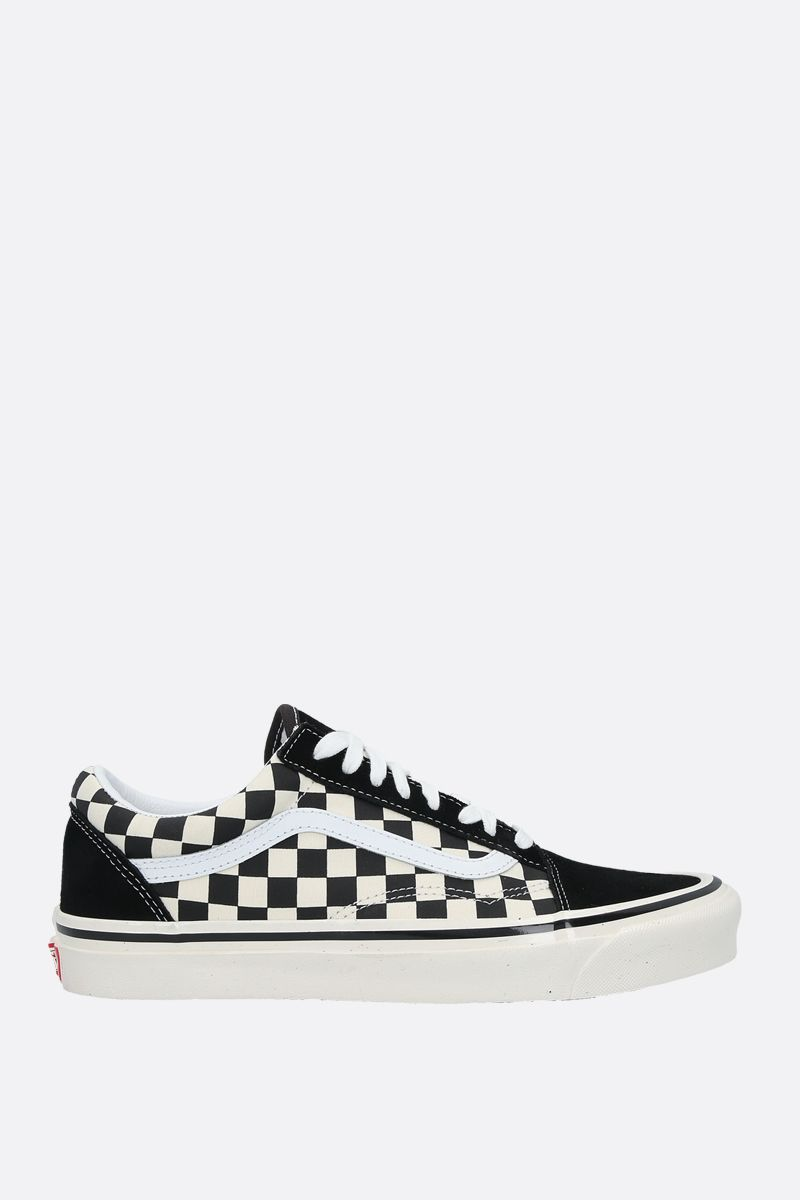 VANS: sneaker Old Skool 36 in canvas e suede Colore Nero_1