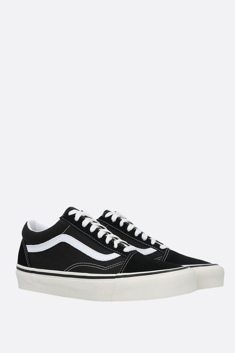 VANS: sneaker Old Skool 36 in canvas e suede_2