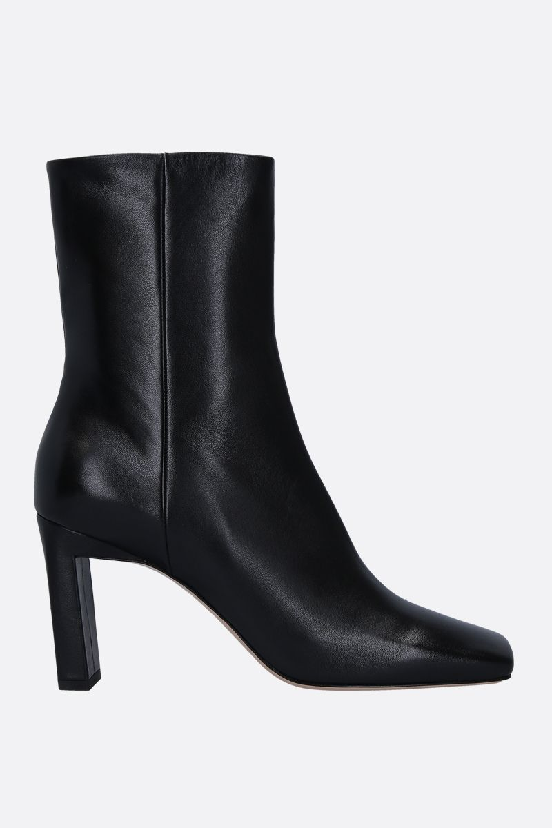 WANDLER: Isa soft nappa ankle boots Color Black_1