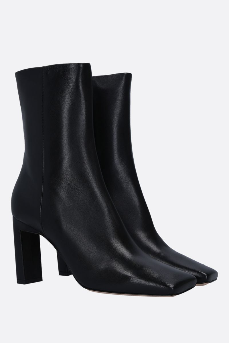 WANDLER: Isa soft nappa ankle boots Color Black_2