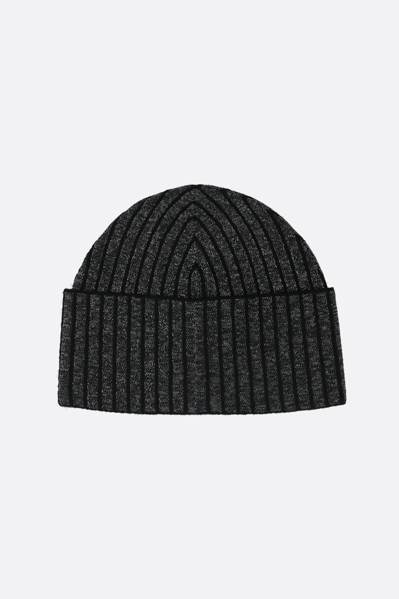 Y-3: Y-3 CH1 knit beanie Color Black_2